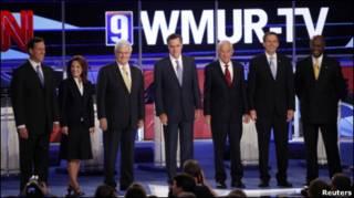 Các ứng viên Đảng Cộng hòa tại New Hampshire