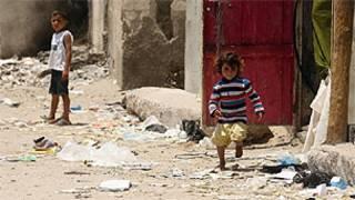 غزة، مياه، اطفال