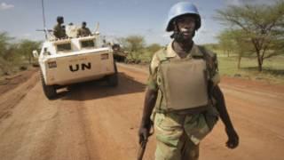 Sojin majalisar dinkin duniya a Sudan