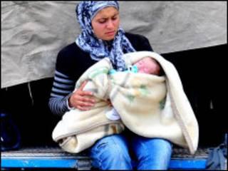 سوري بې ځایه شوي