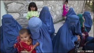 زنان و کودکان افغان