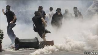 اعتراضات چهارشنبه در یونان