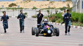 Палестинский гоночный автомобиль