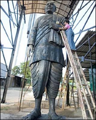 सरदार पटेल की मूर्ति (फ़ाइल फ़ोटो)