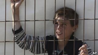Сирийский мальчик-беженец