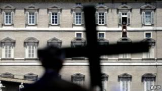 Celebração dos 60 anos de ordenação do papa Bento 16, no último dia 12 (AFP)