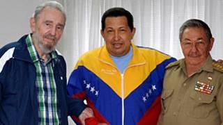 چاوز، فیدل کاسترو، رائول کاسترو
