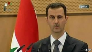 Perezida wa Syria Bashar Assad