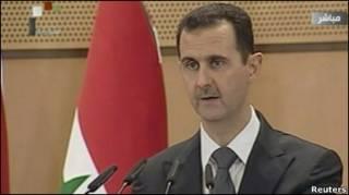 Башар Асад втретє звртається до народу від часу початку ппротестів