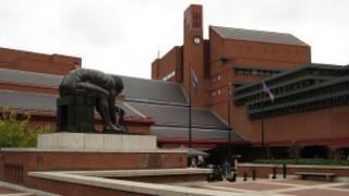 Maquete da Biblioteca Britânica (BBC)
