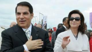 Зин Абидин Бен Али и его жена Лейла Трабелси