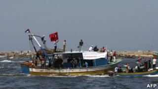 احتفال في غزة بذكرى الهجوم على أسطول الحرية