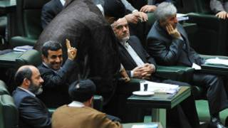 احمدی نژاد در مجلس