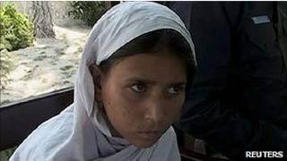 Paquistanesa Sohana Jawed, de 9 anos (AP)