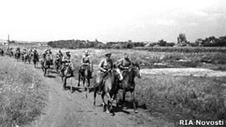 красная кавалерия в августе 1941
