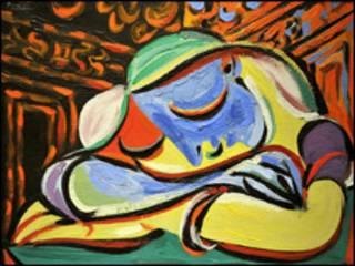 毕加索绘画
