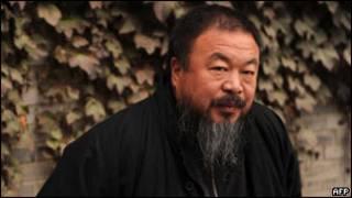 Artista Ai Weiwei, em seu estúdio em Pequim