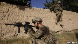 Ingabo z'Amerika muri Afghanistan