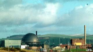 Британская АЭС старого поколения в Сэллафилде