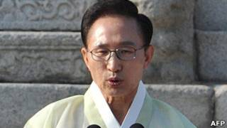 韓國總統李明博(11/6/2011)