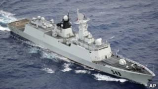 中國海軍將在東海進行為期6天的實彈演習。