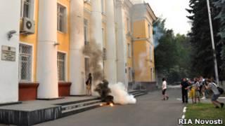 Нападение на администрацию города Химки, июль 2010 года