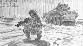 لوحة للرسام مايكل فاي