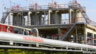 Газовое хранилище на Украине