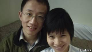 Ông Hồ Giai và vợ