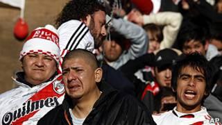 Torcedores do River Plate/AP