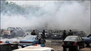 Mashambulizi ya bomu Nigeria