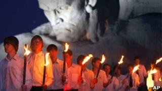 Церемония в Брестской крепости 22 июня