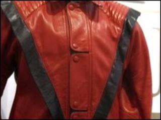 Áo da của ca sĩ Mỹ, Michael Jackson, trong video Thriller