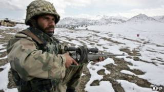 Пакистанские пограничники