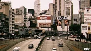 Vista da cidade de São Paulo. Foto: BBC