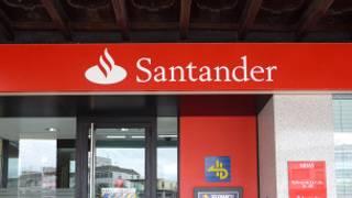 العلامة التجارية لبنك سانتاندر