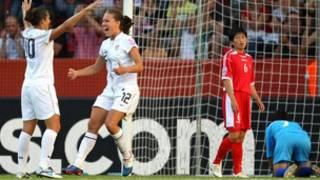 بازی کره شمالی در مقابل آمریکا