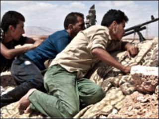 'Yan tawayen Libya