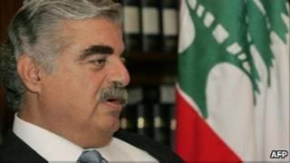 Premiê foi assassinado em atentado a bomba em 2005. Foto: AFP