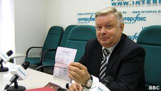 Глава ФМС Константин Ромодановский