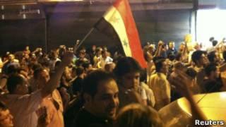 Protestos em Aleppo, segunda maior cidade da Síria (Reuters)