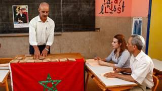 همه پرسی در مراکش