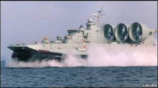 """Десантний корабель """"Ітакі"""", побудований в Україні на замовлення Греції"""