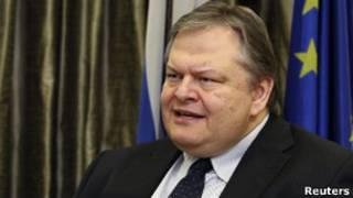 وزير المالية اليوناني ايفانغيلوس فينيزيلوس