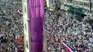 تظاهرات جمعه در حماه