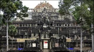 कंबोडिया का प्राचीन मंदिर