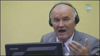 Cựu lãnh đạo Ratko Mladic