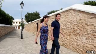 Дэвид Кэмерон с женой Самантой