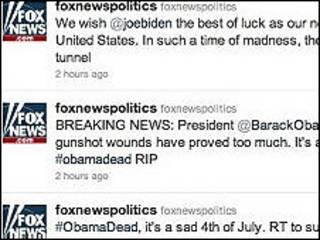 Twitter của Fox News