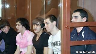 Аслан Черкесов и другие фигуранты дела на скамье подсудимых